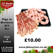 Xmas Pigs in Blanket DIY Kit