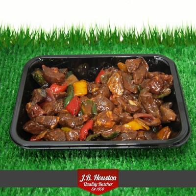 Char Siu Cajun Beef Stir Fry - 500g
