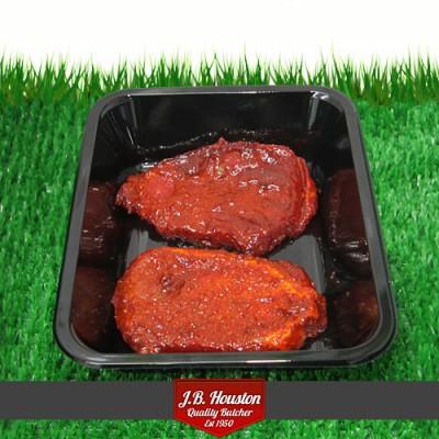 Dragonfire Pork Steaks