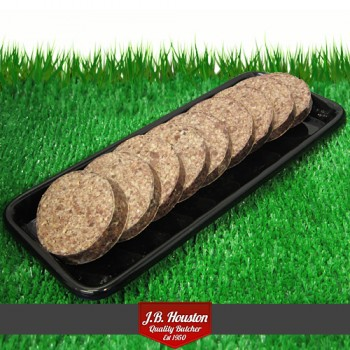 Houston Haggis Sliced