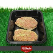 Lemon Pepper Pork Steaks - 2pk