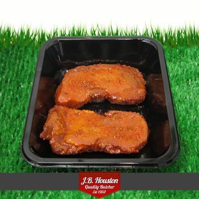 Persian Pork Steaks