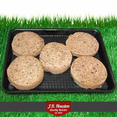 Pork And Haggis Round Sausage - Each