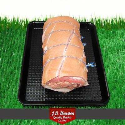 Stuffed Belly Pork, Pork + Apple - 500g